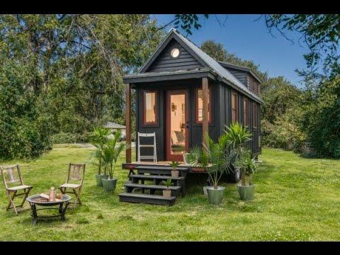 Beautiful Riverside Tiny House Interior Exterior