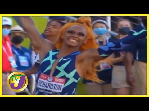 Sha'Carri Richardson   TVJ Sports Commentary - Sept 28 2021