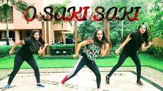 O SAKI SAKI : Batla House | Dance Fitness choreography | Nora Fatehi | Neha Kakkar | Tulsi Kumar