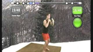 Wii Workouts - My Fitness Coach 2 - Boxing Challenge Workout Part 2