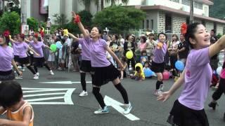 2011 奄美まつり パレード第一部 大島高校新体操部  01676