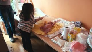 Liz en haar pasgeboren baby | Extraordinary Pregnancies