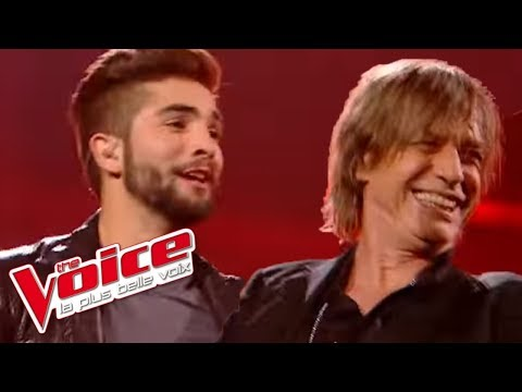 Kendji Girac et Jean Louis Aubert – Temps à nouveau | The Voice France 2014│Finale