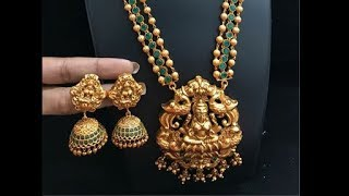 Temple Jewelry / Women bridal gold jewelry latest designs