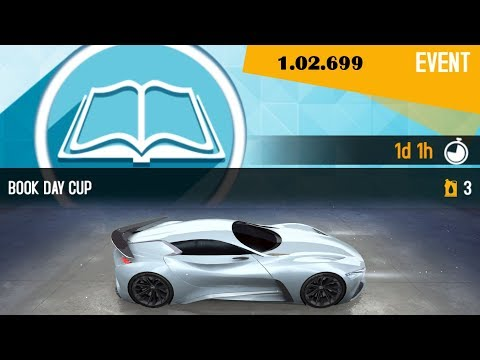 Asphalt 8 - BOOK Day Infinity Vision GT (Clifftop Run) 1.02.699