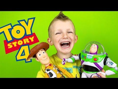 ОНИ ЖИВЫЕ! История Игрушек 4 В РЕАЛЬНОЙ ЖИЗНИ! The Toy Story 4 in Real Life For Kids