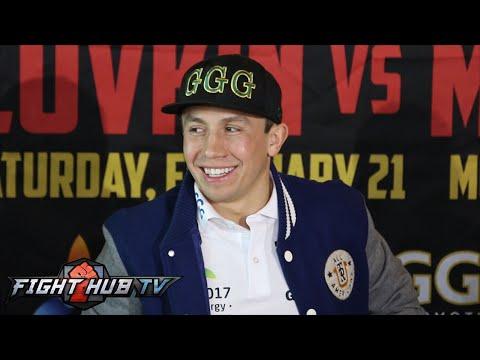 Gennady Golovkin vs. Martin Murray- full video- Golovkin LA media lunch