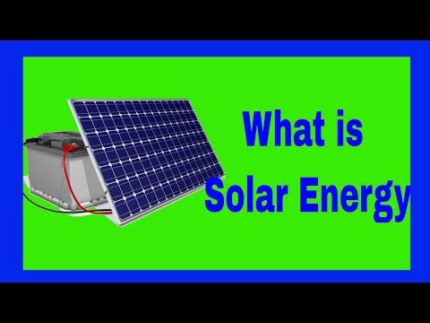 What is Solar Energy | Solar Renewable Energy