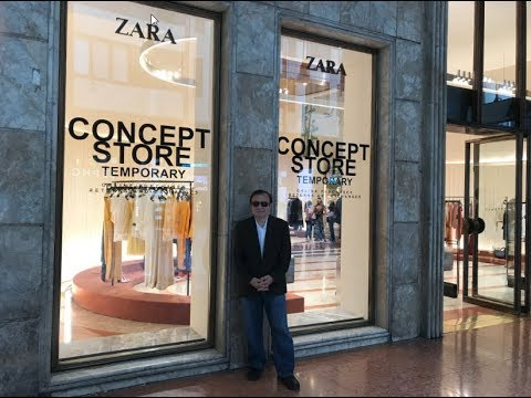 sports shoes 64a90 ce556 Zara's New Concept Store Showcasing Fast Fashion Future of ...
