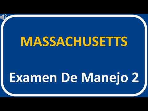 Examen De Manejo De Massachusetts 2