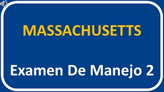Examen De Manejo De Massachusetts 2