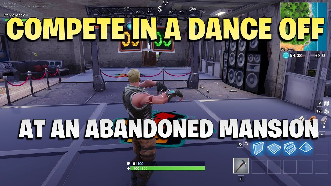 Compete In a Dance Off at an Abandoned Mansion - Games Garage