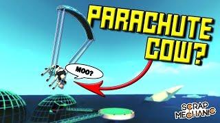 FLYING COWS and UNDERWATER TILES! [FW 3] - Scrap Mechanic Gameplay