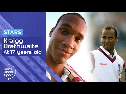 Rising Cricket Star Kraigg Brathwaite on Trans World Sport