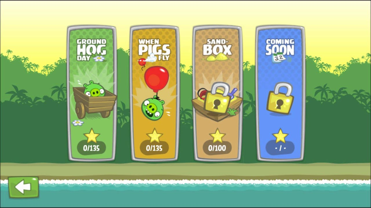Bad Piggies Music - Game Selection - YouTube