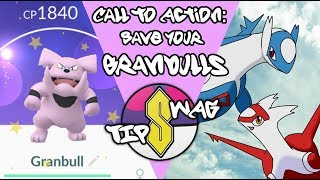 connectYoutube - Save your Granbulls!   Pokemon GO Lunar New Year Event Tip