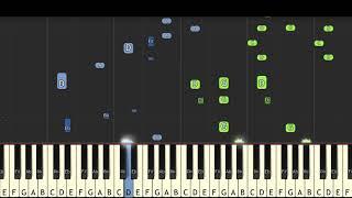 H.I.P.I : Havana - Camila Cabello - Karim Kamar [Piano Tutorial] + sheet music (Synthesia)