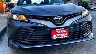 Тест-Драйв Новой Тойота Камри 2018 За 40 Баксов?! Обзор Toyota Camry С @N1ckyrush В Лос-Анджелесе!