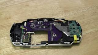pspi version 1000 3 first prototype pcb raspberry pi zero in a psp shell