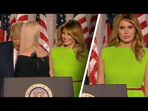 Did Melania Trump Give Ivanka a Frosty Look at RNC?