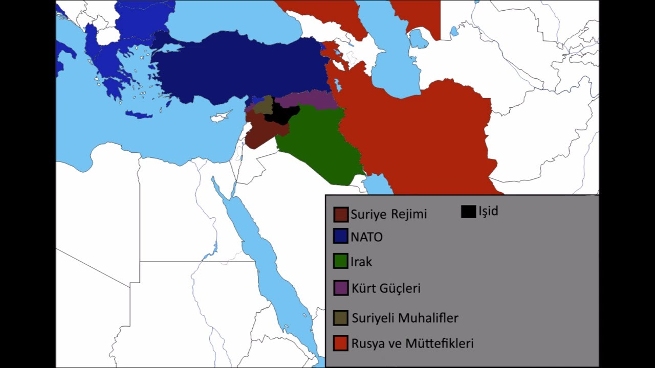 Alternate Middle East Part 2 Map Youtube
