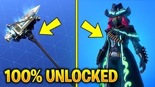 "NEW *MAX CALAMITY* SKIN UNLOCKED FULLY WITH PICKAXE ""RECKONING"" GAMEPLAY in Fortnite Battle Royale"