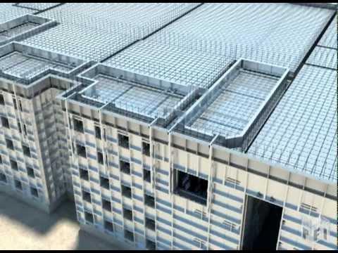 Multi Story Concrete Construction Using Aluminum Forms