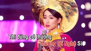 karaoke Phận Tơ Tằm - Mai Thiên Trang