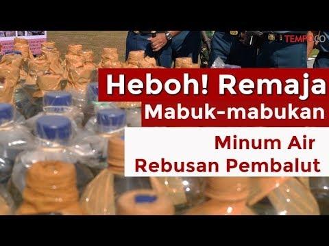 Heboh! Remaja Mabuk-Mabukan Minum Air Rebusan Pembalut Mp3