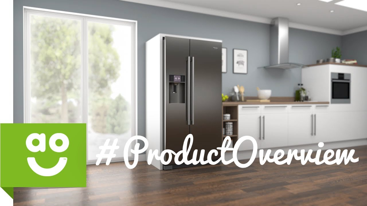 haier american fridge freezer hrf 628if6 product overview youtube. Black Bedroom Furniture Sets. Home Design Ideas