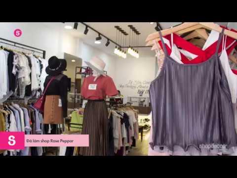 Shop thời trang Rose Peppar được Shopdecor thiết kế và thi công trọn gói!