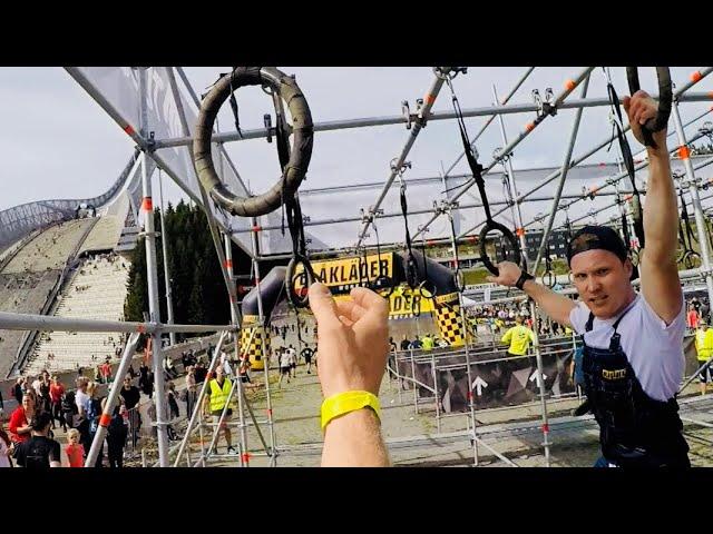 TOUGHEST OSLO 2018 - A FULL LAP TOUGHEST RACE OSLO HOLMENKOLLEN GOPRO - VLOG69