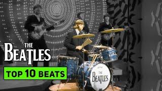 Top 10 BEATLES Drum Beats Everyone Should Know