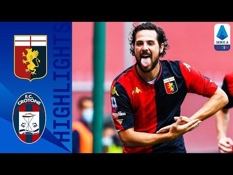 Genoa Crotone Goals And Highlights