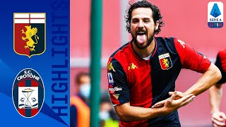Genoa 4-1 Crotone | Genoa Score 4 on Crotone's Return to the League! | Serie A TIM