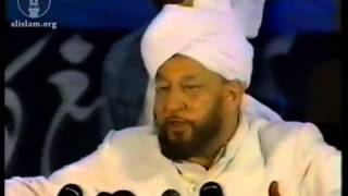 Address on Second Day, Jalsa Salana 27 July 1991.