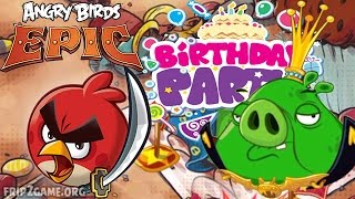 Angry Birds Epic - King Pig Battle Epic