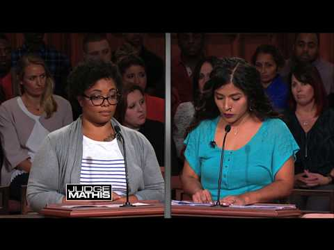 Judge Mathis Gets to the Point with Rent Money