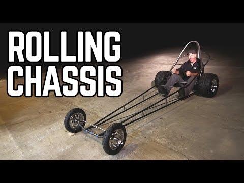 Predator 670cc Dragster Build Pt  5 - YouTube