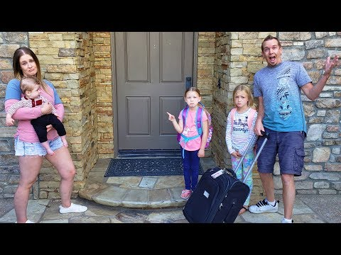 72 Hours Without Mom Gone Wrong! Madison Hates Leaving & Trinity Get Sick!