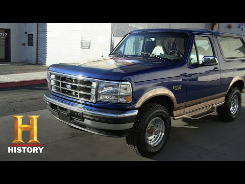 Counting Cars: A Bronco Transformed (Season 8, Episode 14) | History
