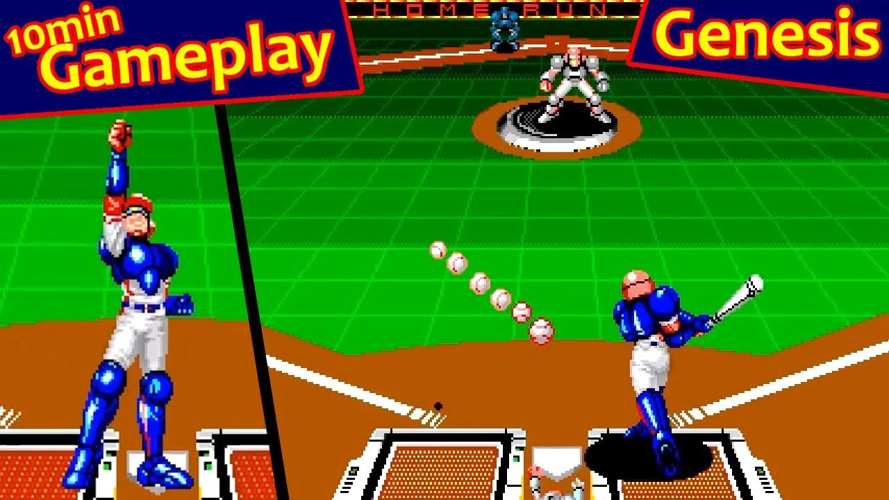 Super Baseball 2020 Sega Genesis Youtube
