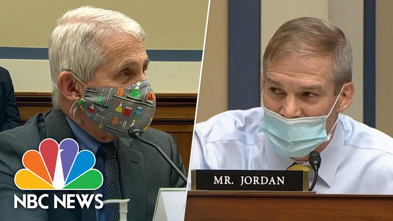 Video: Dr. Anthony Fauci and Rep. Jim Jordan clash over COVID-19 ...