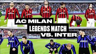 AC Milan Legends vs. Inter Legends: A Fantasy Match on PES