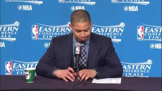 Tyronn Lue Postgame Interview | Celtics vs Cavaliers | Game 4 | May 23, 2017 | 2017 NBA Playoffs