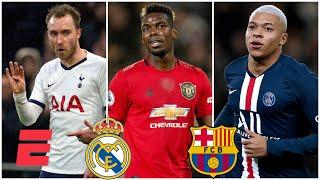 Real Madrid, Barcelona y los refuerzos que podemos ver para el 2020, ¿Eriksen, Pogba, Mbappe?