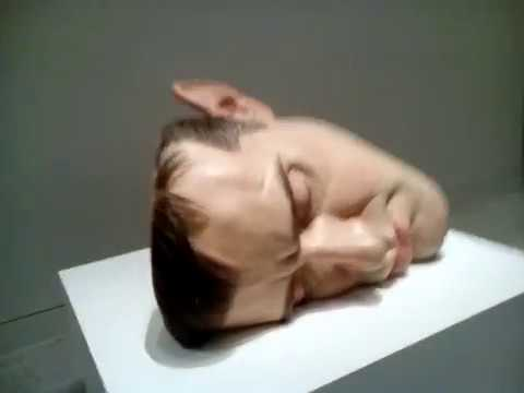 more sculptures from the ron mueck exhibit at the museum of fine