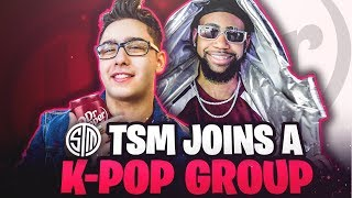 TSM JOINS A K-POP GROUP!? - Behind the Scenes with Dr Pepper