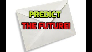 prediction magic trick revealed!  how to predict the future! #howtomagic #magictricksrevealed