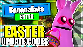 ALL NEW *EASTER* UPDATE CODES! Banana Eats Roblox